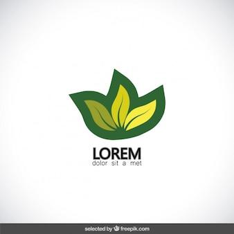 Groene plant logo