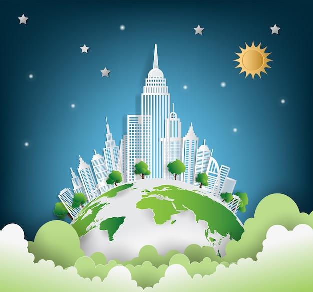 Groene stad redt de wereld