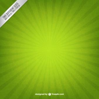 Groene starburst achtergrond Gratis Vector