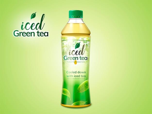 Groene thee verpakking