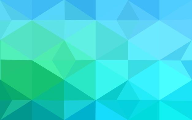 Groene vector moderne geometrische abstracte achtergrond
