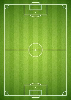 Groene voetbalveld