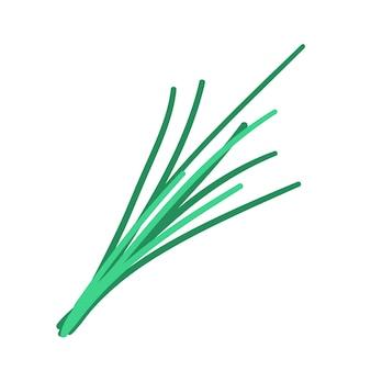 Groenen doodle stijl vector element handdraw illustratie