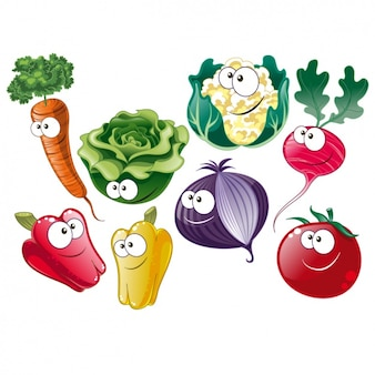 Groenten-collectie