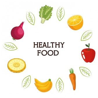 Groenten en fruit gezond voedsel