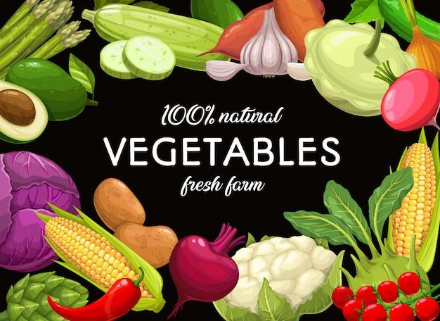 Groentenvoedsel, groene organische wortel en peper