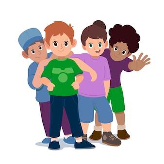 Groep mensen illustratie