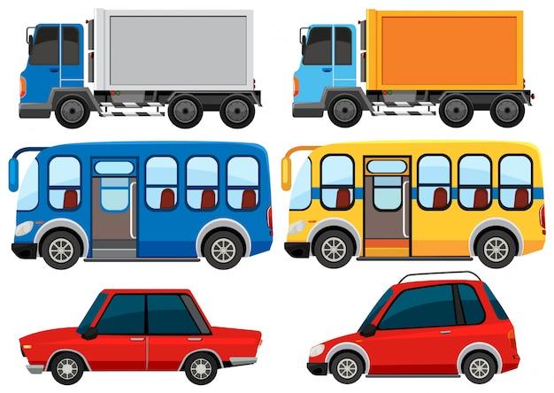 Groep voertuigen