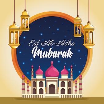 Groot festival van de moslims