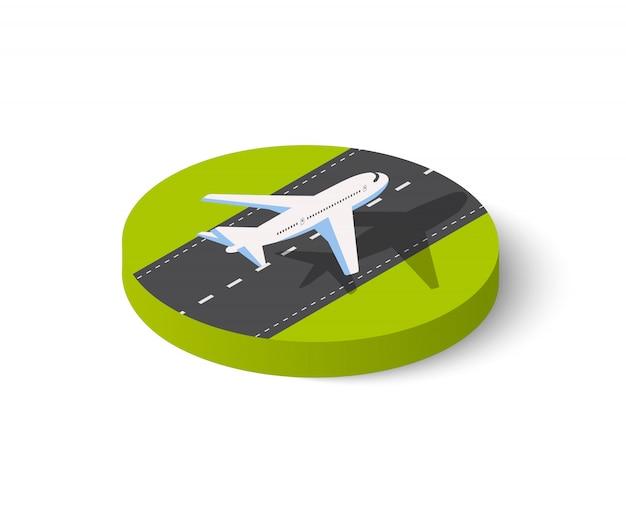 Groot passagiersvliegtuig