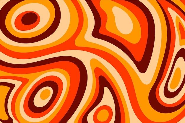 Groovy psychedelische kleurrijke achtergrond