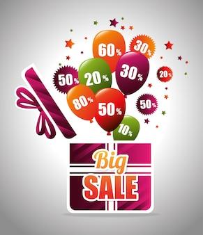 Grote kortingen en aanbiedingen winkelen