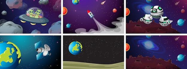 Grote ruimte scèneset