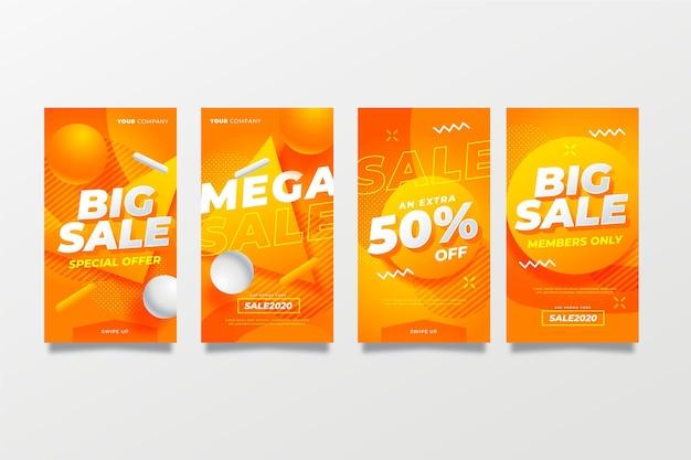 Grote verkoopverhalen op sociale media