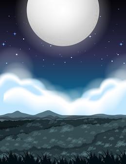 Grote volle maannacht