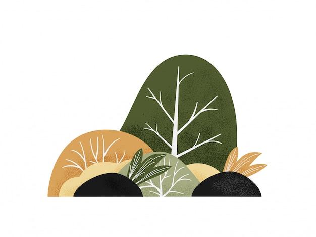 Grove illustratie