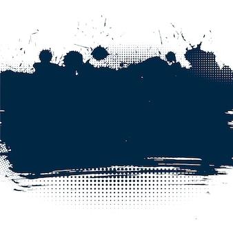 Grunge achtergrond met inkt splatter effect