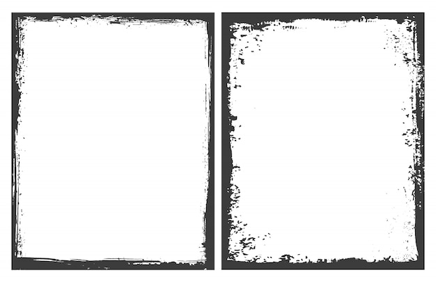 Grunge frames achtergrond