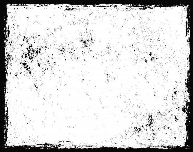 Grunge getextureerde frame