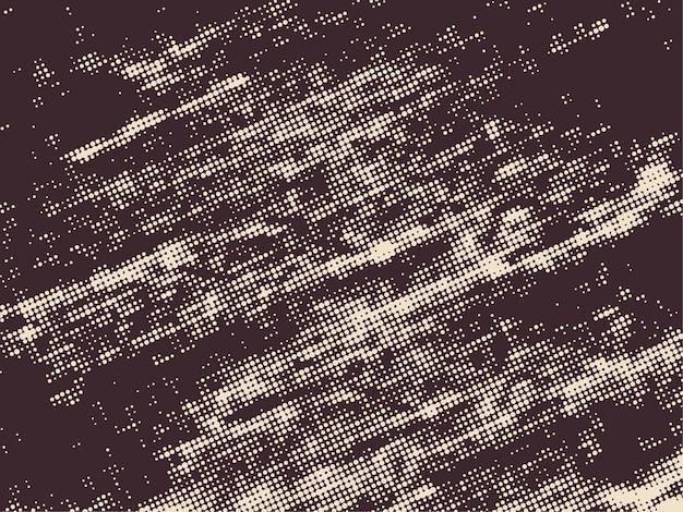 Grunge halftone stippen achtergrond. offset afdrukken textuur.