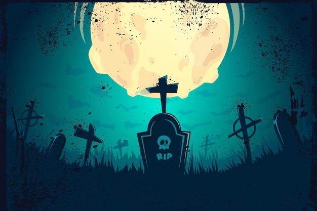 Grunge halloween achtergrond