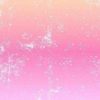 Grunge-overlay op de achtergrond van de pastelkleurgradiënt