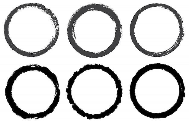 Grunge ronde cirkels