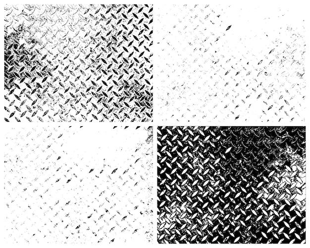 Grunge texturen vector pack