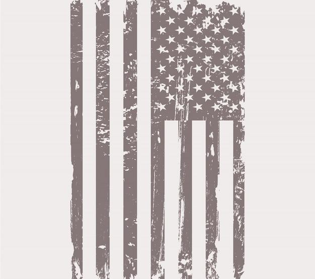 Grunge usa vlag achtergrond