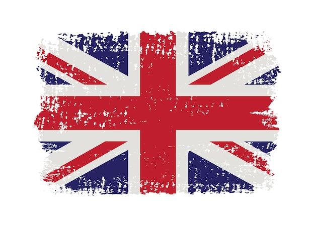 Grunge verenigd koninkrijk vlag