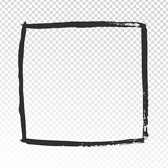 Grunge vierkant frame