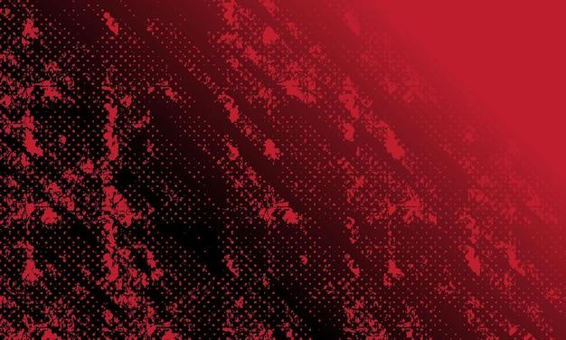 Grungeborstel en halftone gedetailleerde textuurachtergrond