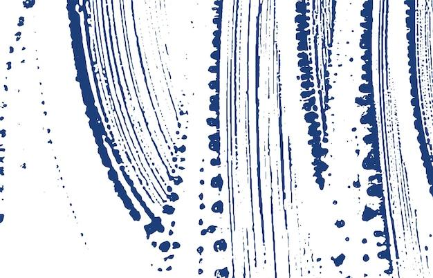 Grungetextuur. nood indigo ruw spoor. gevoelige achtergrond. lawaai vuile grunge textuur. adembenemend artistiek oppervlak. vector illustratie.