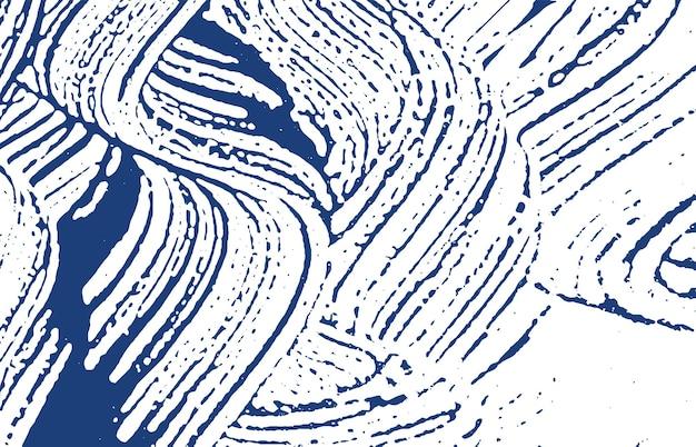 Grungetextuur. nood indigo ruw spoor. gevoelige achtergrond. lawaai vuile grunge textuur. verrukkelijk artistiek oppervlak. vector illustratie.