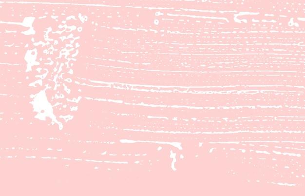 Grungetextuur. nood roze ruw spoor. grote achtergrond. lawaai vuile grunge textuur. exquise artistieke oppervlak. vector illustratie.