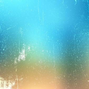 Grungetextuur op de achtergrond van de pastelkleurgradiënt