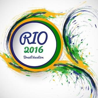 Grungy brazilië kleuren achtergrond