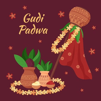 Gudi padwa viering banner
