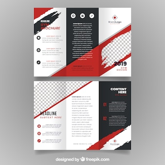 Gym driebladige brochure
