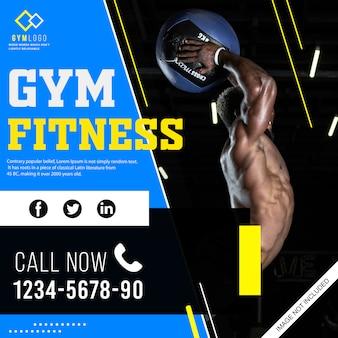 Gym flyer banner