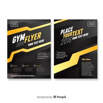 Gym folder sjabloon