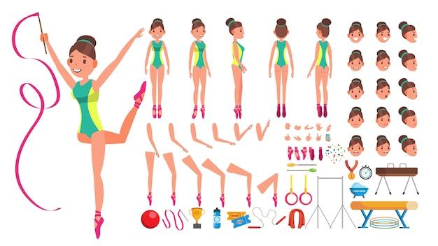 Gymnastiek vrouw