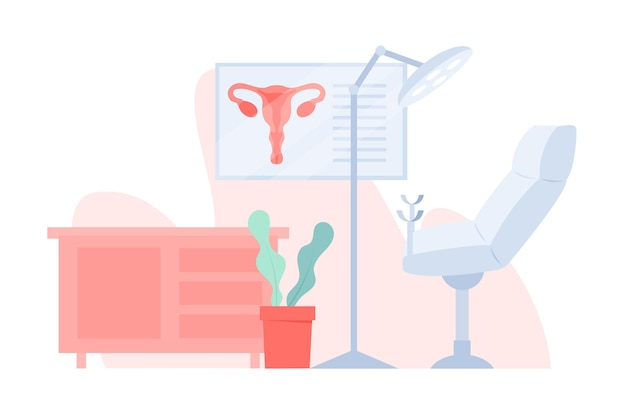 Gynaecologie overleg illustratie