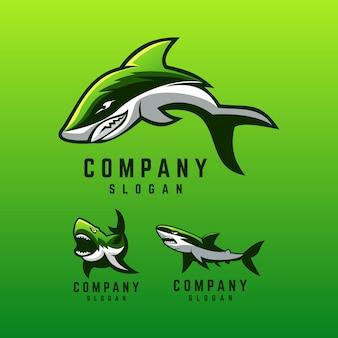 Haai logo ontwerp