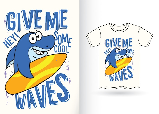 Haai voor t-shirt