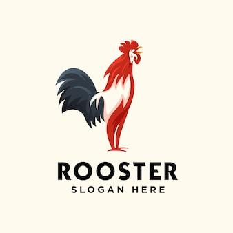 Haan logo ontwerp premium vector
