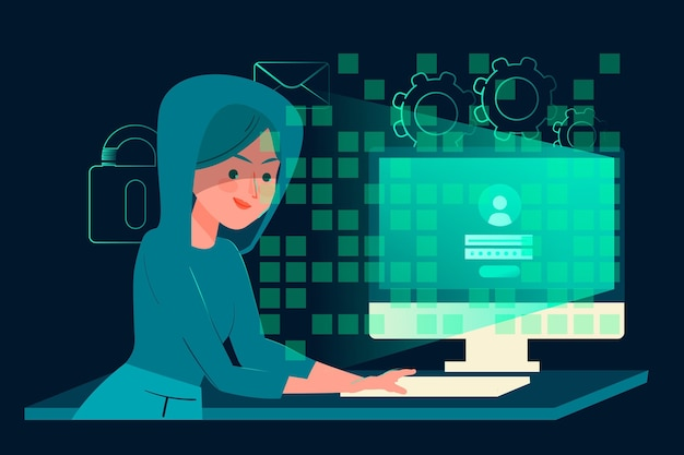 Hacker activiteitenthema