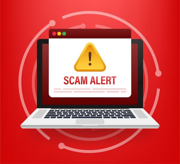 Hackeraanval en web veiligheidsconcept