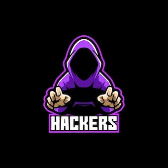 Hackers anonieme hackende gamers hacken pro gaming