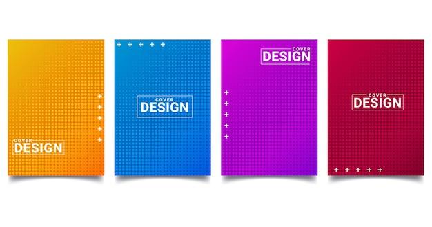 Halftone abstracte achtergrond met stippen Premium Vector